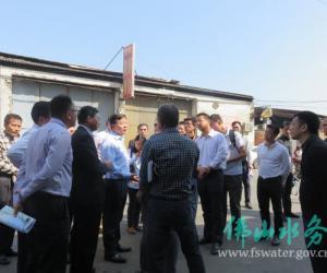市长朱伟督导调研广佛跨界河流整治工作情况