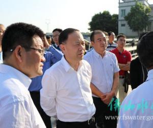 赵海副市长巡视西南涌