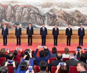 新一届中共中央政治局常委同中外记者见面,习近平总书记讲话