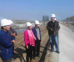 管理处督查惠农渠砌护及配套建筑物改造三标段建设工程