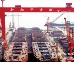 扬子江船业获4艘82000吨Kamsarmax型散货船订单
