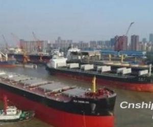中船澄西获4艘82000吨散货船订单