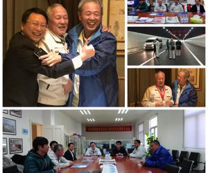日本专家到项目总经理部访问