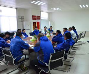 项目总部组织召开专题会部署春节值班工作