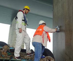 广东省质监站对岛隧工程进行第三次质量鉴定工作