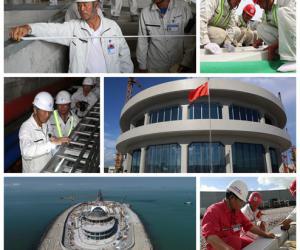 """港珠澳大桥岛隧工程""""质量月""""活动成效显著"""