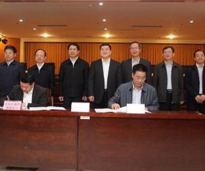 防城港市与自治区海洋和渔业厅签订产业合作框架协议