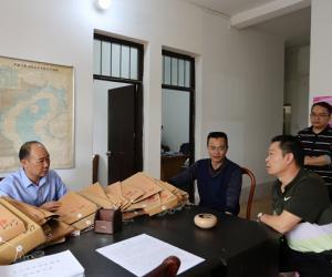 广西渔港监督局陈军局长带队调研钦州、防城港两地渔港渔船安全监管工作