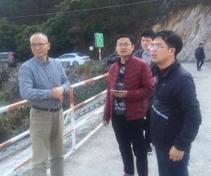 市水利局副局长陈东风带队检查城厢区防汛备汛和水利工程安全度汛工作