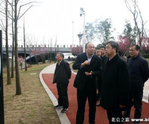 水利部太湖流域管理局局长吴文庆一行调研我区水利工作