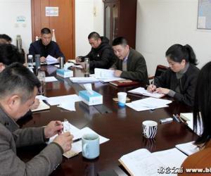 区水利局召开2017年度领导干部民主生活会