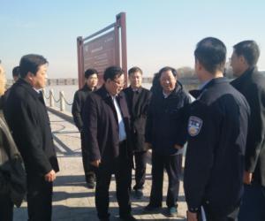 杨洪涛副市长巡查淄河河长制推进情况