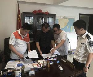 陈明东副局长带队检查长乐市安全生产工作