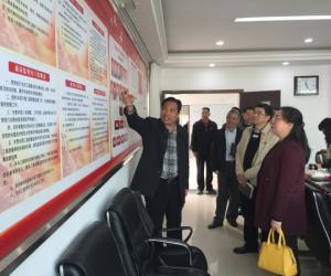 纪检组长陈燕君率队到市水务工程质量监督站调研指导工作