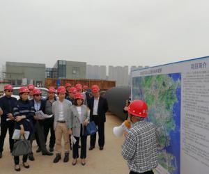 澳门社会各界代表来我市参观考察对澳供水设施