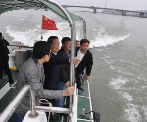刘嘉文副市长带队开展安全生产检查