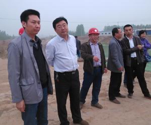 局领导到引黄河南、邯郸段检查指导工作