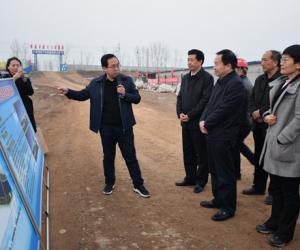 省水利厅党组书记刘正才调研指导我市水利工作