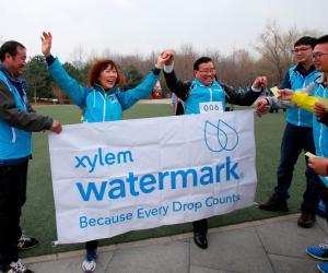 2018赛莱默世界水日为水行走活动在北京举行