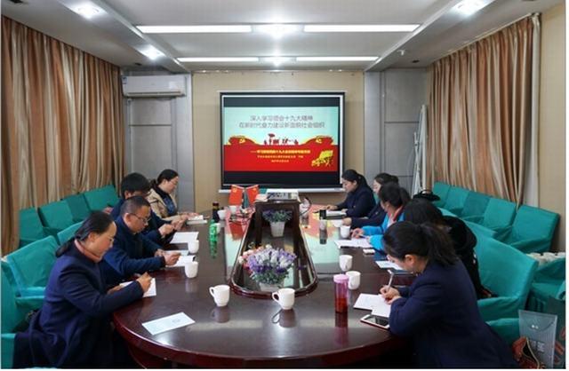 中共云南省水利工程行业协会支部举行专题党课宣传