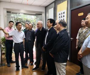 唐俊出席厅直系统老干部纪念改革开放40周年书画摄影展