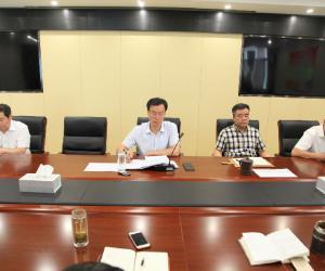 省南水北调局举行局、干线公司机关年轻干部座谈会