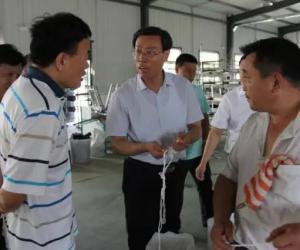 马承新同志赴东平县调研第一书记帮包工作