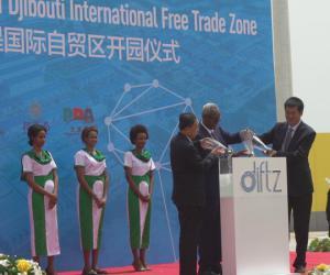 我港参与投资的吉布提国际自贸区开园