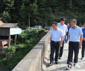 娄底市领导带队赴湄江河巡河
